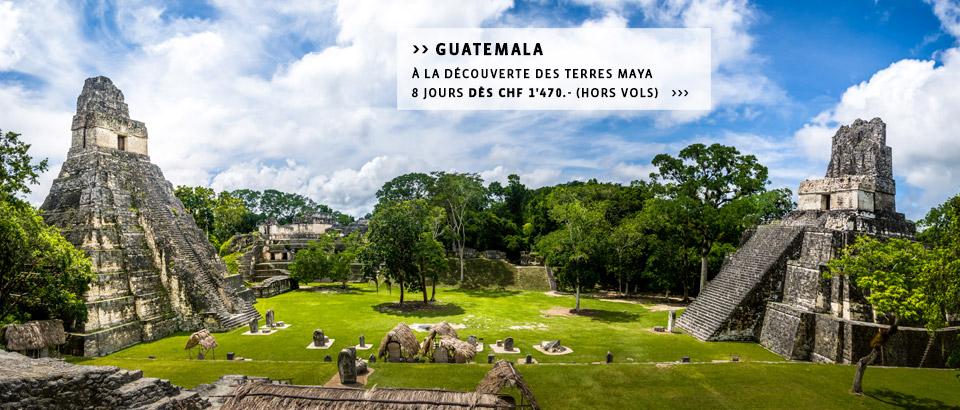Destinations Amérique Latine - Découvrez les plus beaux circuits
