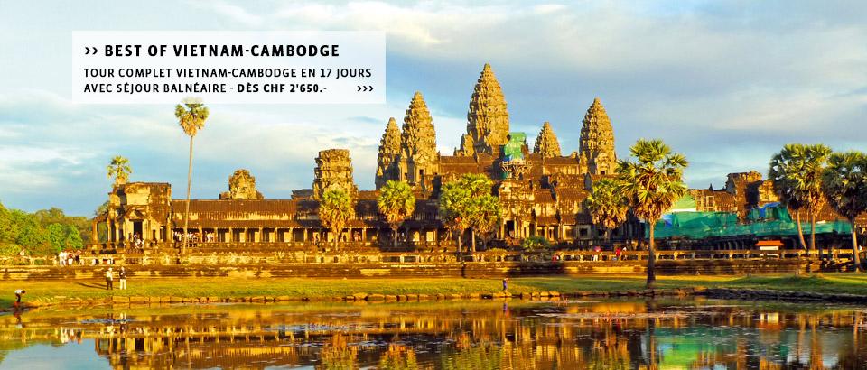 Destinations-Cambodge: Découvrez le Cambodgeà la carte, les circuits ou séjours individuels du spécialiste Suisse.