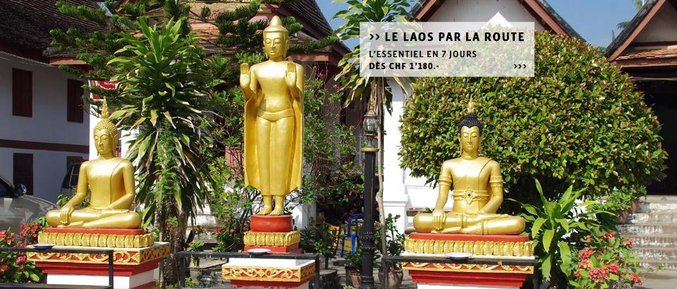 Destinations-Laos: Découvrez le Laos à la carte, les circuits ou séjours individuels du spécialiste Suisse.