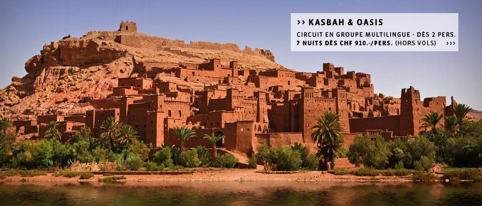 Destinations Maroc - Séjours, week-end ou circuits à la carte au Maroc