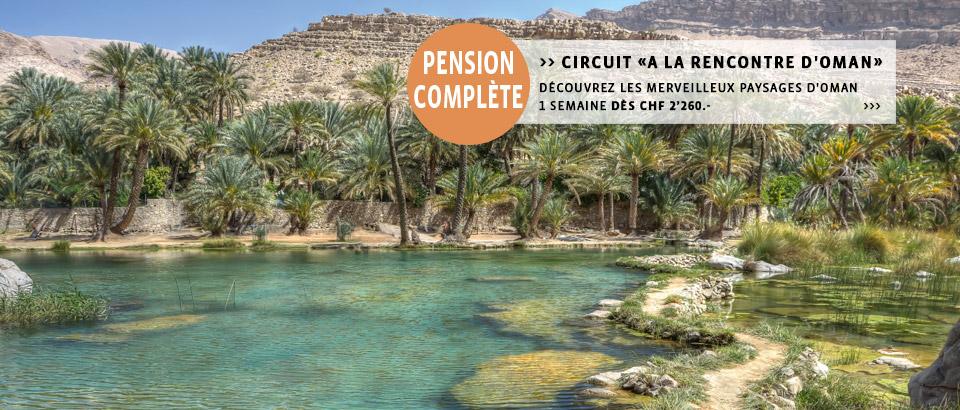 Destinations-Oman: Découvrez Oman à la carte et les circuits ou séjours individuels du spécialiste Suisse.